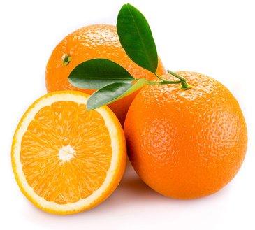 Orangen können die Augen schützen